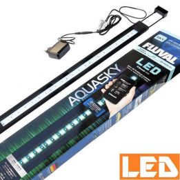 Lampa LED AQUASKY 27W Bluetooth 3000K-25000K FLUVAL czarna