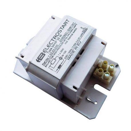 Statecznik indukcyjny MHIP Electrostart do lamp wyładowczych - metalohalogenkowych 35W | sklep AQUA-LIGHT.pl