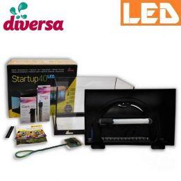 Zestaw StartUp 40 LED akwarium proste 25 l