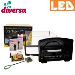 Zestaw StartUp 40 LED akwarium profilowane 25 l Diversa | sklep AQUA-LIGHT.pl