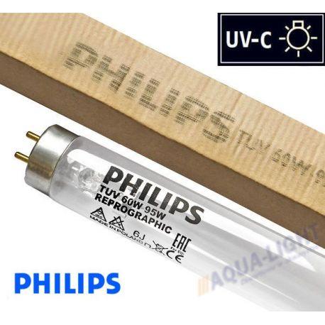 Promiennik UV-C Świetlówka UVC PHILIPS TUV T8 18W typ F17T8 trzonek G13 - od AQUA-LIGHT