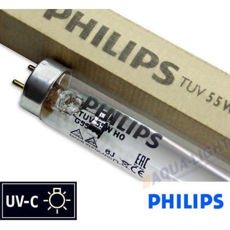 Promiennik UV-C Świetlówka UVC PHILIPS TUV T8 55W G55 trzonek G13 - od AQUA-LIGHT