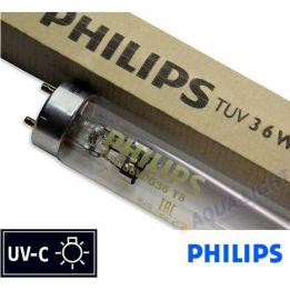 Promiennik UV-C Świetlówka UVC PHILIPS TUV T8 36W G36 trzonek G13 | sklep AQUA-LIGHT.pl
