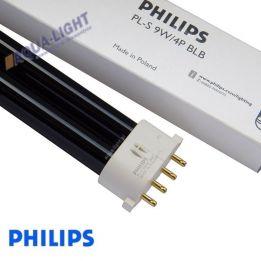 Świetlówka Blacklight blue Philips PL-S 9W/4P 2G7 BLB