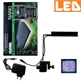 Lampa PLANT SPECTRUM LED NANO 15W Bluetooth 7500K FLUVAL czarna