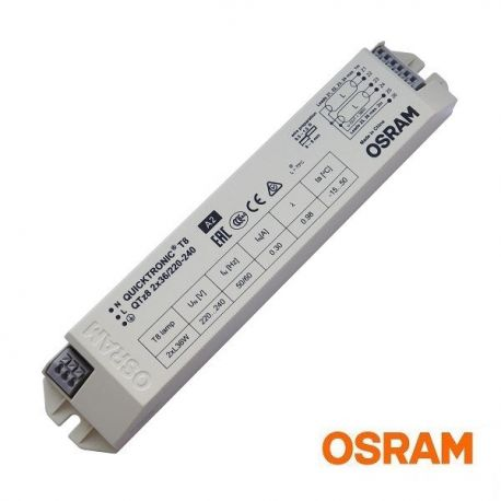 Statecznik elektroniczny T8 2x36W Osram Ouicktronic QTz8 | sklep AQUA-LIGHT.pl