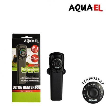 Grzałka Aquael ULTRA HEATER 50W z elektronicznym termostatem   sklep AQUA-LIGHT