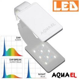 Lampka akwariowa LED LEDDY SMART SUNNY D&N 4,8W 6500K AQUAEL, biała - na akwarium | sklep AQUA-LIGHT.pl