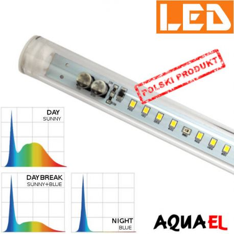 Moduł LED LEDDY TUBE Day&Night - moc 14W SUNNY, firmy AQUAEL | sklep AQUA-LIGHT.pl