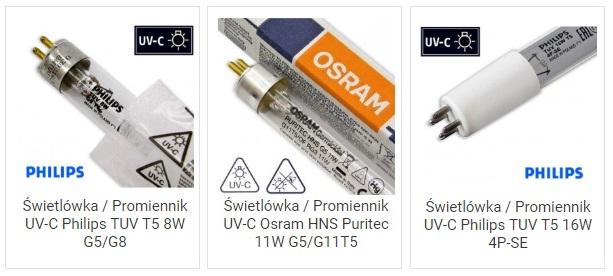 Promienniki UVC T5 4P-SE TUV HNS do oczek wodnych | sklep AQUA-LIGHT.pl