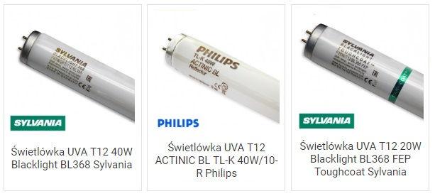 Świetlówki T12 do lamp owadobójczych