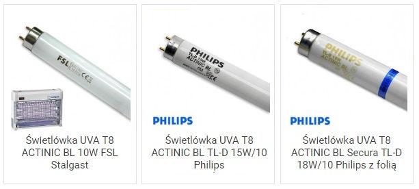 Świetlówki T8 do lamp owadobójczych
