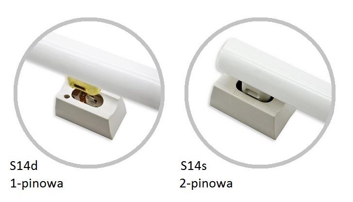 Żarówki liniowe LED - rodzaje gniazd i trzonków