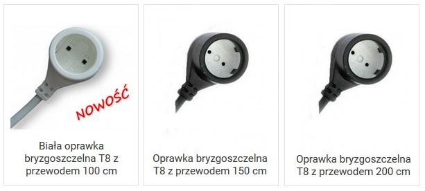 Oprawki bryzgoszczelne do świetlówek T8 - blog aqua-light.pl