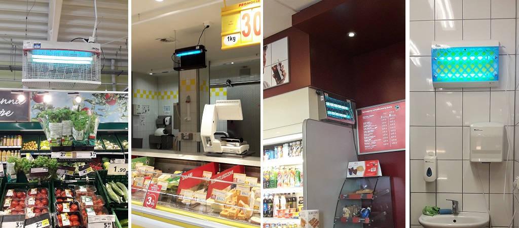 Zastosowanie lamp owadobójczych - sklep, cukiernia, bar | Blog AQUA-LIGHT