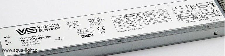 Statecznik elektroniczny VS ELXc 424.228 - od AQUA-LIGHT