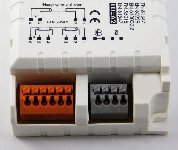 Statecznik elektroniczny ELXc 218.871 - terminale |sklep AQUA-LIGHT.pl