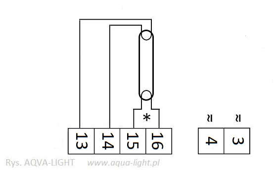 Schemat podłączenia świetlówki do statecznika Tridonic 1x14-35W T5 TOP