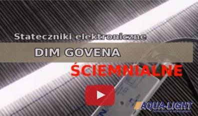 Stateczniki ściemnialne GOVENA, elektroniczne - od AQUA-LIGHT
