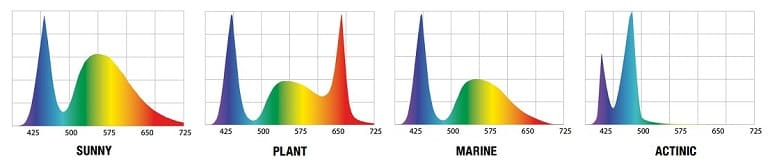 Moduły LEDDY TUBE Aquael - widmo SUNNY, PLANT, MARINE, ACTINIC od AQUA-LIGHT. Ledowe zamienniki ECOLIGHT 9W i 11W.