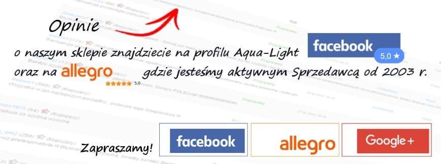 Nie jesteście pewni, czy warto zrobić zakupy w AQUA-LIGHT? Sprawdźcie opinie o sklepie!