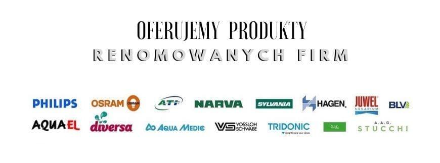 W sklepie AQUA-LIGHT szeroki wybór produktów renomowanych światowych producentów oświetlenia. Zapraszamy!